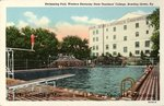Swimming Pool & Health & Physical Education Building by Spencer News Company