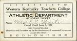 WKU Athletics Student Season Ticket by WKU Athletics