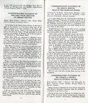 Proceedings of A Day of Commemoration & Dedication Program by Western Kentucky University