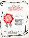 A Day of Commemoration & Dedication Program by Western Kentucky University
