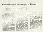 Vacated Gym Becomes a Library by Modern Schools Magazine