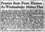 Pennies Rain from Heaven, Part 1 by College Heights Herald
