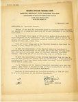 Memorandum by R. H. Agnew
