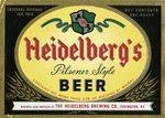 Heidelberg's Pilsener Style Beer Label by Heidelberg Brewing Company