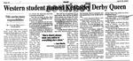 Western Student Named Kentucky Derby Queen by Jacob Bennett