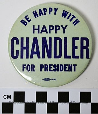 Be Happy with Happy Chandler For President