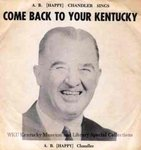 Come back to your Kentucky by Kentucky Library Research Collections