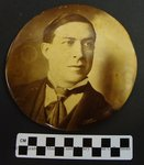William Goebel Political Photo Button by Kentucky Library Research Collections
