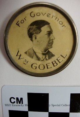 William Goebel for Governor Political Pin