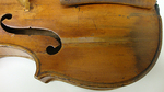 Violin Body Detail by Elzy Mitchell