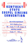 Program by Kentucky State Singing Convention