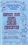 Program by Kentucky State Gospel Singing Convention