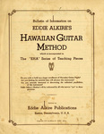 Hawaiian Guitar Method by Eddie Alkire