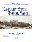 Kentucky State Normal March by Franz Strahm