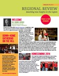 Regional Review: Reaching New Heights in the Region Spring 2015 by Heather Garcia ,editor