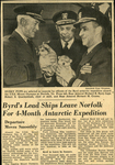 Byrd's lead Ships Leave Norfolk by WKU Library Special Collections