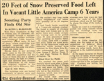 Little America Camp by Lousiville Courier-Journal