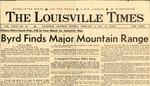 Byrd Finds Major Mountain Range by Louisville Times