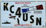 QSL Card Antarctica by WKU Amateur Radio Club