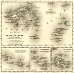 Pacific Islands by J.H. Colton & Company