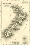 Map of New Zealand by J.H. Colton & Company