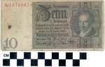 Reichsbanknote by WKU Library Special Collections