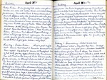 April 29th & 30th Diary Entries by Clara Hines