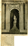 Monument in Memory of Czar Alexander II by WKU Library Special Collections