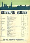 Russian Songs by Cesar Cui