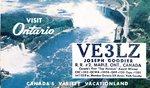 QSL Card from Canada by WKU Amateur Radio Club