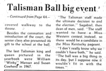 Talisman Ball Big Event