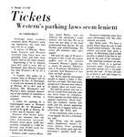 IN 1980 PARKING FINES WERE LOWER AT WKU