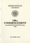 Commencement by WKU Registrar