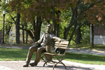 Lincoln Bench by WKU Public Affairs