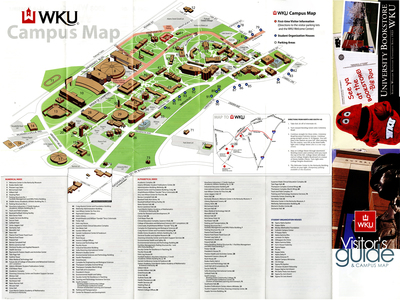 Campus Map By Wku Parking Transportation
