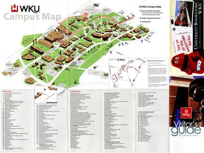 Wku Campus Map Campus Map